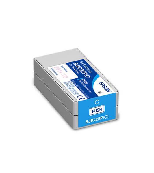 Cartucho de Tinta Ciano Epson SJIC22P – C33S020581