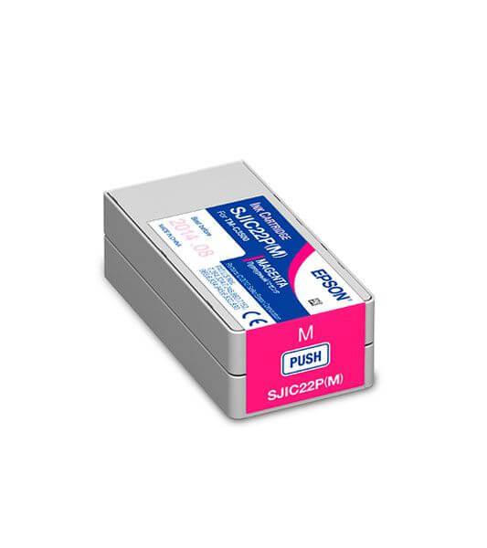 Cartucho de Tinta Magenta Epson SJIC22P – C33S020582
