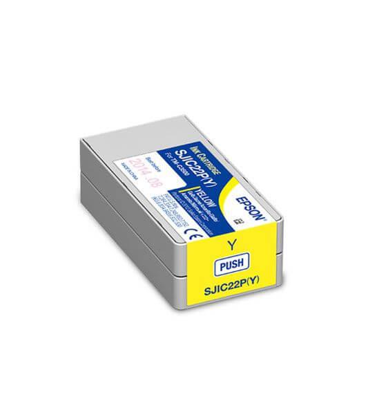 Cartucho de Tinta Amarelo Epson SJIC22P – C33S020583