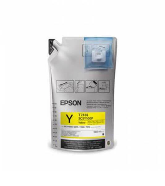Tinta Epson UltraChrome DS Amarela T741400 – 1000ml