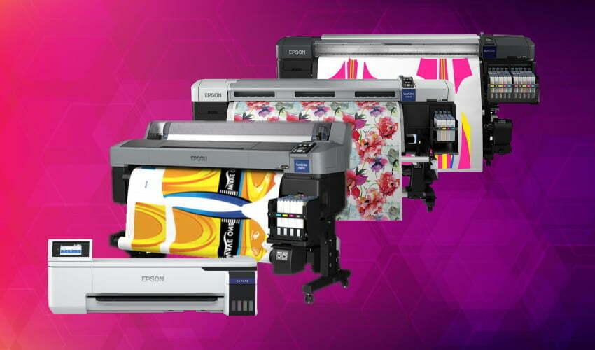 5 motivos para investir numa impressora para sublimação Epson® Série F da DSI