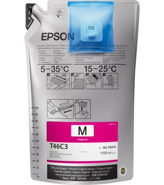 Tinta Epson UltraChrome DS Magenta T46C320 – 1100ml