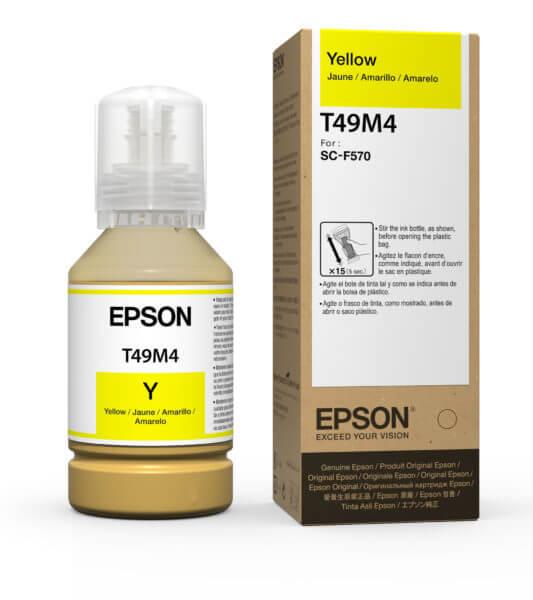 Garrafa de Tinta Amarelo Epson® T49M420 – 140ml