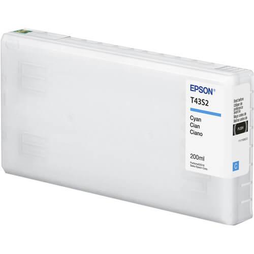 Cartucho Epson de tinta ciano de 200 ml T43S220