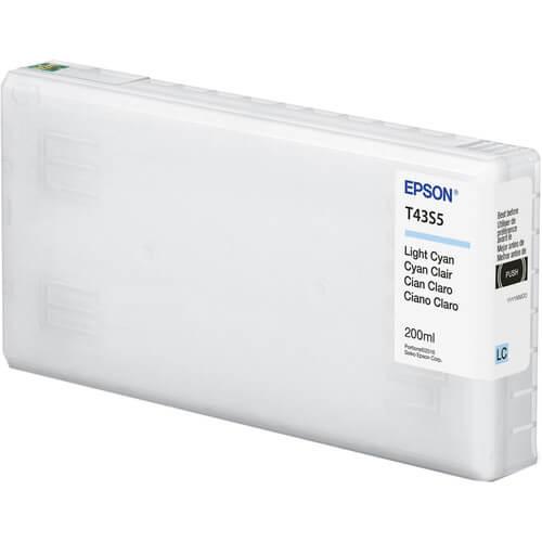 Cartucho Epson de tinta ciano claro de 200 ml T43S520