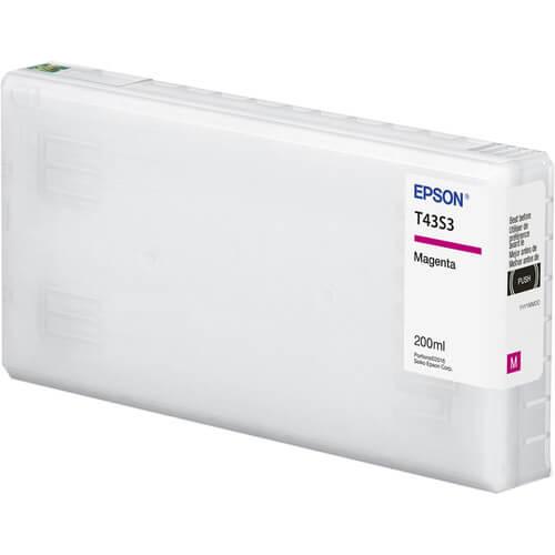 Cartucho Epson de tinta magneta de 200 ml T43S320