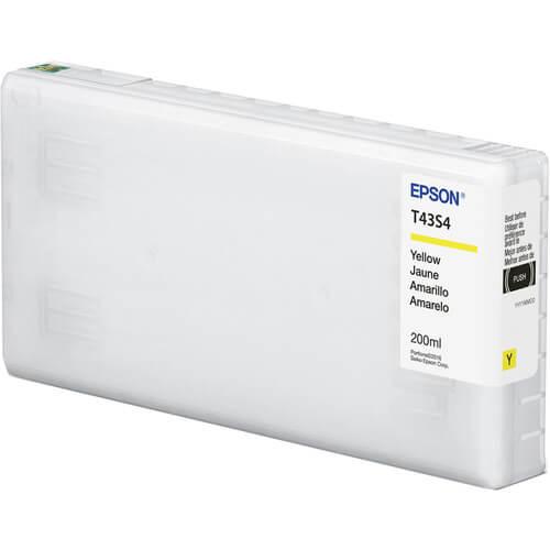 Cartucho Epson de tinta amarelo de 200 ml T43S420