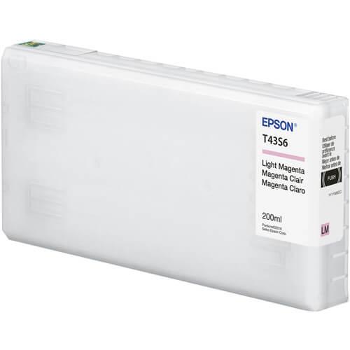 Cartucho Epson de tinta magenta claro de 200 ml T43S620